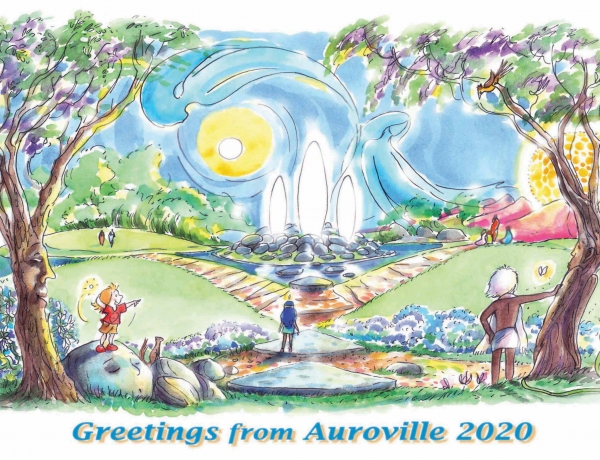 Our 2020 New Year's Card For The Land