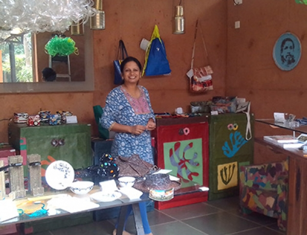Start Upcycling Auroville